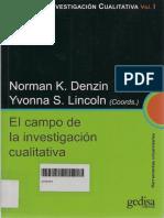 El Campo de La Investigacion Cualitativa Denzin Lincoln Tomo 1