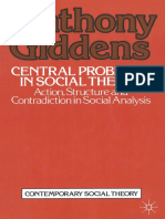(Contemporary Social Theory) Anthony Giddens (auth.)-Central Problems in Social Theory_ Action, structure and contradiction in social analysis-Macmillan Education UK (1979).pdf