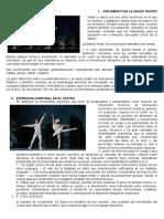 Danza Teatro en El Peru
