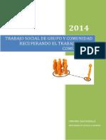 Trabajo Social de Grupo y Comunidad Recu