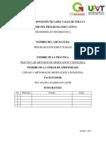 Reporte de Practica U3 PE