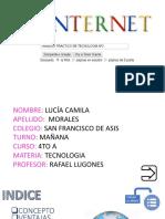 Trabajo Practico de Tecnologia 2 El Internet