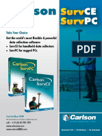 Carlson SurvCE PC Brochure