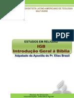 2015 2o41cv Introducao Geral a Biblia