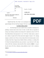352404642 Sarah Palin Sues the New York Times for Defamation