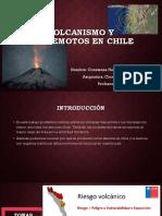 Volcanismo Y TERREMOTOS en CHILE Constanza Hermosilla