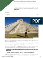 Cuáles Son Los 7 Países Con Más Sitios Declarados Patrimonio de La Humanidad Por La Unesco - BBC Mundo