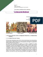 8. La Educación Medieval. Ficha de Documentación Yépez 2014.doc