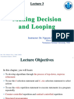 Lecture 3-Making Decision and Looping.pptx