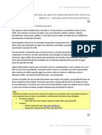 Banco de Dados II Unidade01