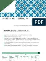 ANTIPSICOTICOS 1ª GENERACION