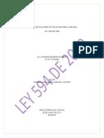 Ensayo Ley 594 de 2000