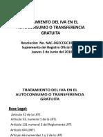 Tratamiento Del Iva en El Autoconsumo (Participantes)