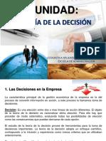 Teoría de La Decisión (II Unidad) (1)
