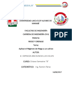 Informe Tecnico Regimen de Riego