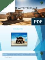 Camiones de Alto Tonelaje (2)
