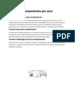 Componentes por arco.docx