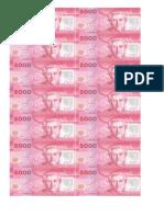 Billetes Para Recortar