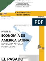 Economia America Latina Pasado Reciente y Evolucion Acontecida