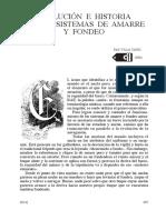 EVOLUCIÓN  E  HISTORIA DE  LOS  SISTEMAS  DE  AMARRE y  FONDEO
