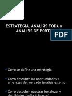Estrategia Foda - Porter