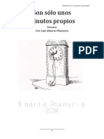 Poemario - Son Sólo Unos Minutos Propios - Luis Alberto Phenuria