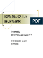 Home Medication Review