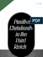 Cristianismo Positivo en El Tercer Reich