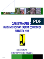 Eastern Corridor Progress