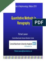 Quantitative Methods in Renography
