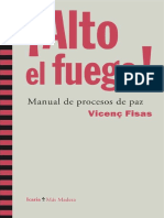 Alto El Fuego. Manual de Procesos de Paz.