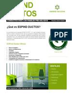 Espind Ductos_panel Pre-Aislado
