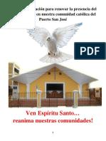 Semana de Oracion Por Pentecostes
