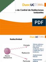Control de Radiaciones Ionizantes