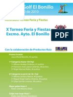 1 de Agosto Torneo Feria y Fiestas 2010
