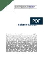 Timber Design Seismic Design