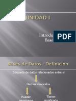 Unidad1_Introduccion Base de Datos