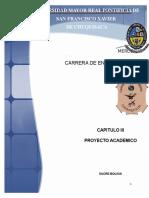 Caratula y Contenido Proyecto Académico