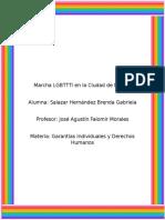 Marcha LGBTTTI en La Ciudad de México