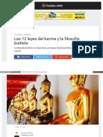 12 Leyes Karma