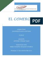 Trabajo de Monografia El Comercio i