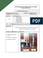 Informe 2 Presion Hidrostatica