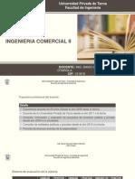 SESION DE CLASES N° 01 INGENIERIA COMERCIAL II 2017-I