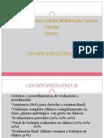 Generalidades de Odontopediatría