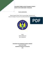 Skripsi Pengembangan Media Pembelajaran Transmisi Otomatis Berbasis Flash Di SMK Negeri 1 Magelan