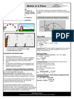 Theory Projectile Motion