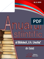 Anuar științific Nr. 2