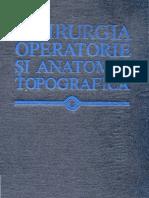 Chirurgia Operatorie Si Anatomia Topografica Kulcitki