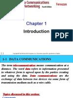 ch01 FOROUZAN DATA COMMUNICATION