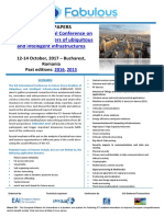 3rd Call for Papers FABULOUS 2017
